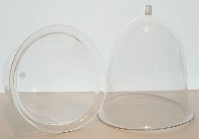 Large Contoured Breast Cups